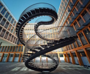 Staircase-spiral-to-nowhere